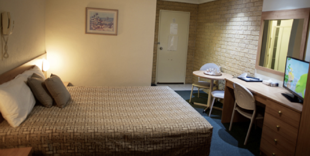 Budget Motel Chain Accommodation Forest Lodge Dubbo