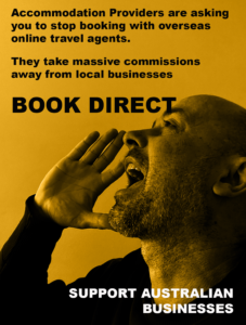 BOOK DIRECT AccomNews Support Local Businesses